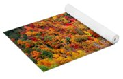 Brilliant Color Trees Yoga Mat
