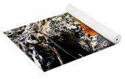 Brilliant Orange Lichen Yoga Mat