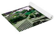 Buffalo New York Waterfront Aerial View Ultraviolet Effect Yoga Mat