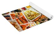 Bugs On Postage Stamps Yoga Mat