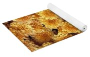 Butterfly On Flowers Yoga Mat