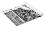 Byzantine Ornament Yoga Mat