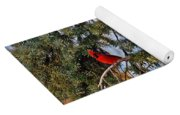 Cardinal Christmas Card Yoga Mat