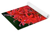 Cardinal Flower Full Bloom Yoga Mat
