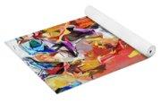 Carnival Abstract 082512 Yoga Mat