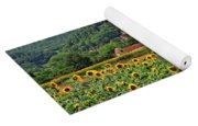 Castle In Dordogne Region France Yoga Mat