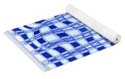 Catch A Wave - Blue Abstract Yoga Mat