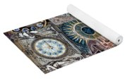 Clocks Of Paris Yoga Mat