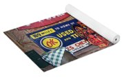 Coca Cola - Rexall - Ok Used Tires Signs And Other Antiques Yoga Mat