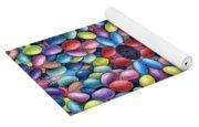 Colored Beans Design Yoga Mat