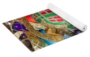 Colorful Ornaments With Ribbon Yoga Mat
