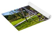 Country Classic Paint Filter Yoga Mat