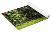 Countryside With Old Fig Tree Yoga Mat