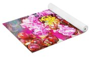 Crape Myrtle Blank Greeting Card Yoga Mat