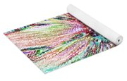 Crazy Daisy Colored Pencil Photoart Yoga Mat