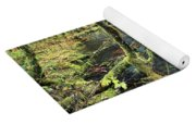 Creek In The Rain Forest Yoga Mat