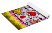 Day Of The Dead - Death Mask Yoga Mat