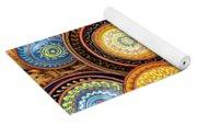 Decorative Plates Provence France Yoga Mat