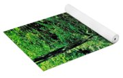 Distant Ozone Falls And Rapids - Summer Yoga Mat