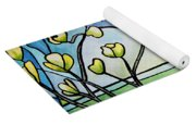 Dogwood Stained Glass I Yoga Mat