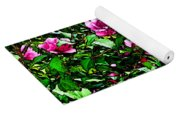 Double Rose Of Sharon Yoga Mat