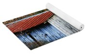 Down On The Farm - Old Shed Yoga Mat