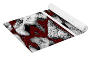 Dramatique Red Triptych Yoga Mat