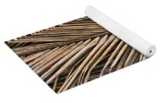 Dried Palm Fronds Yoga Mat