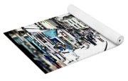 Dutch Shopping Street- Digital Art Yoga Mat