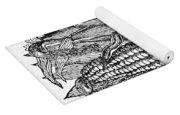 Ears Of Maize Yoga Mat