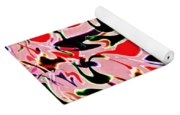 Evolve Abstract Painting Yoga Mat