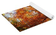 Eye Of The Forest Yoga Mat