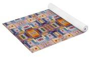 Fabric Art Yoga Mat