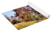 Fall In The Foothills Yoga Mat