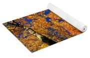 Fall Maple Treetops Yoga Mat