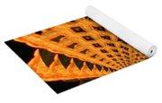 Fancy Coral Yoga Mat