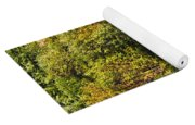 Farmhouse In Fall Yoga Mat