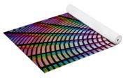 Ferris Wheel Rainbow Yoga Mat