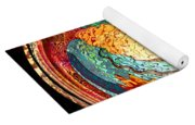 Fire And Water Yoga Mat