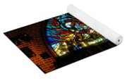 Fireman's Hall Stained Glass Yoga Mat