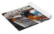Fishing Boats Mykonos Yoga Mat