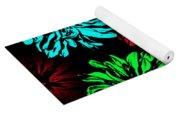 Floral Pop Art Yoga Mat