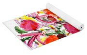 Floral Thirteen Yoga Mat