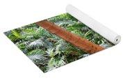 Florida Palms And Ferns Yoga Mat