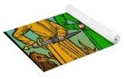 Four Temperaments, Medieval Woodcut Yoga Mat