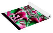 Fractal 12 Candycane Jester Yoga Mat