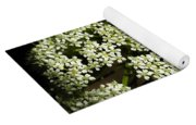 Giant Buckwheat Flower Yoga Mat