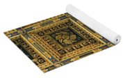 Gold Cathedral Ceiling Italy Yoga Mat