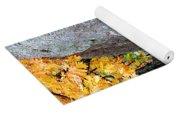 Golden Oak Through Boulders At Elephant Rocks State Park Yoga Mat