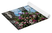 Grand Place Flowers Yoga Mat